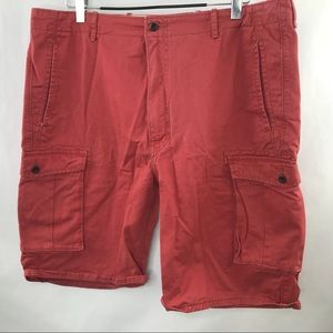 Levi's Mens Carpenter Shorts Size 42 Pink